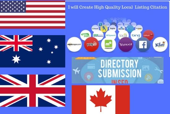 I will do local SEO citations and directory submissions manually