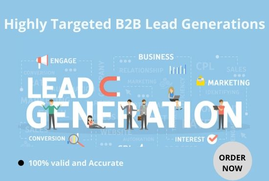 I will collect Highly Targeted B2B lead generation for you
