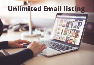 I will provide targeted Email list for your Business.
