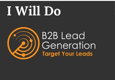 I will do b2b linkedin lead generation and targeted list building