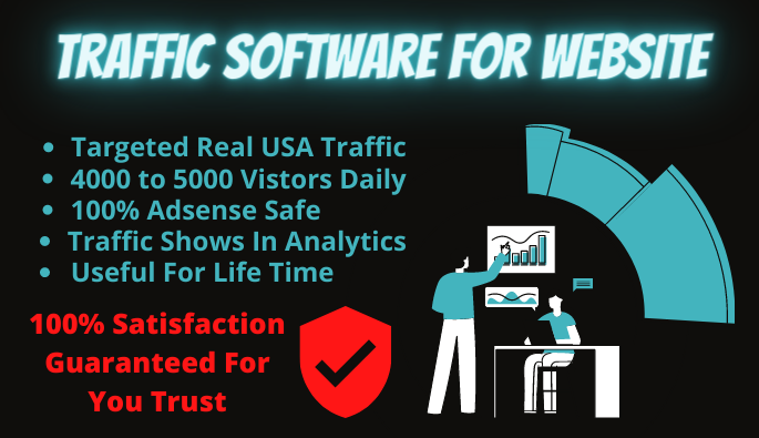 Website Traffic Software For Life Time Targeted USA Real Web Traffic