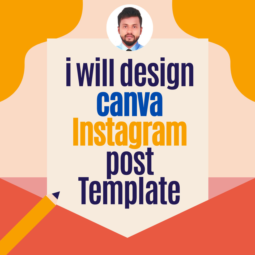 i will design canva Instagram post Template