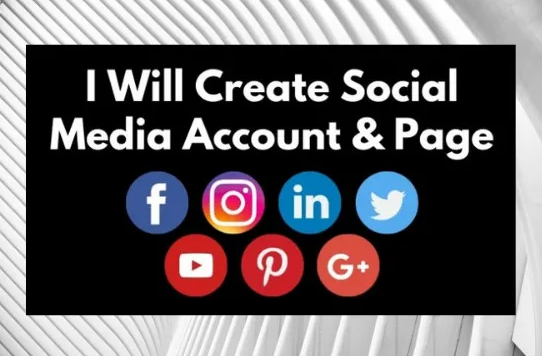 I will create social media account