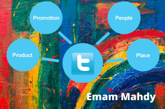 I will do twitter marketing promote account