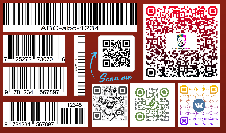 I will create unique professional custom qr code and barcode design