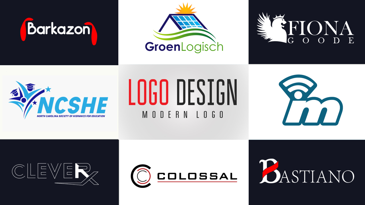 I will design modern professional business logo with unlimited revisions