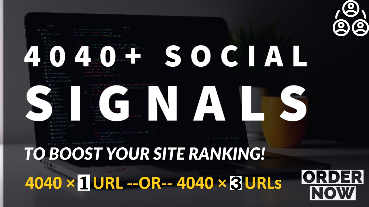 manually done 4040 social signal backlink of top social sites
