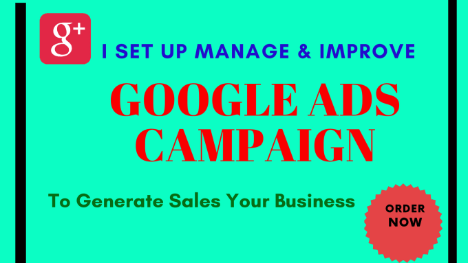 I will make google ads adwords to generate sales