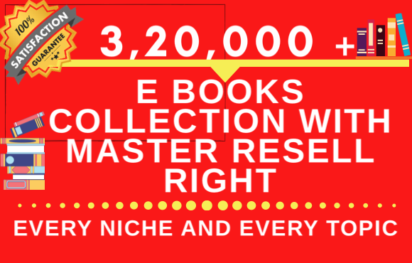 320000 ebook in every category every niche every topic