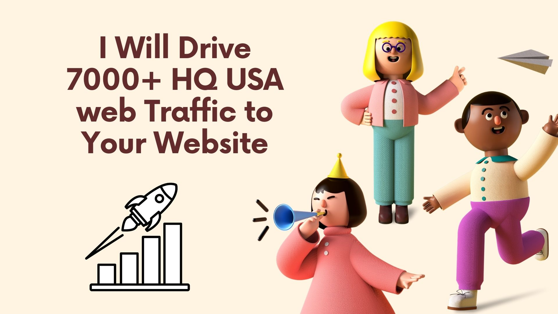 7000+ HQ USA web Traffic to Your Website
