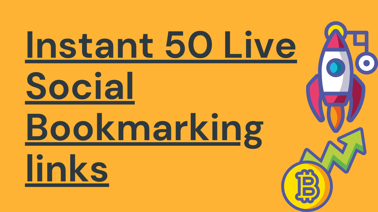 I will Create 50+ High Quality Social Bookmarking Links for Your Website Ranking