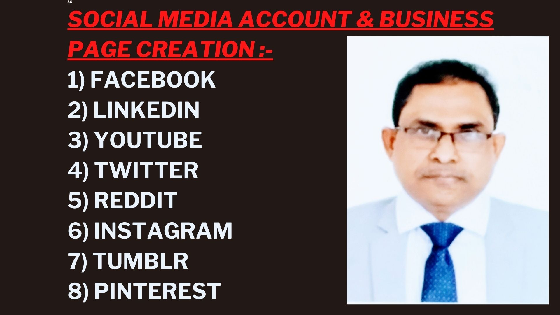 I will Create Social Media Account and Professional Business Page for Your Business