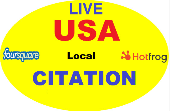 I will do 100 live local seo citations for local businesses