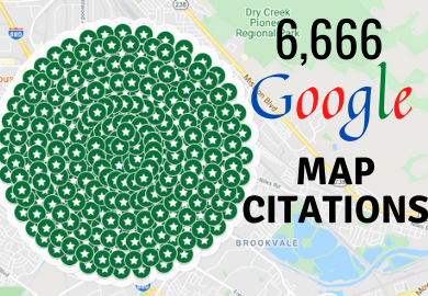I will create 6666 google maps citations for local business SEO