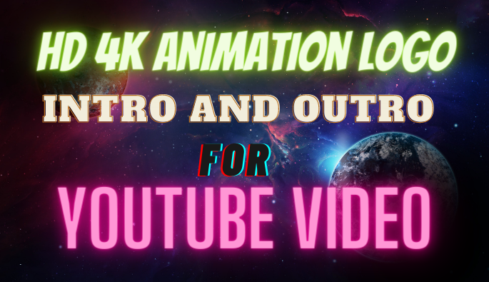 HD 4k Intro And Outro Animation Logo For YouTube Videos