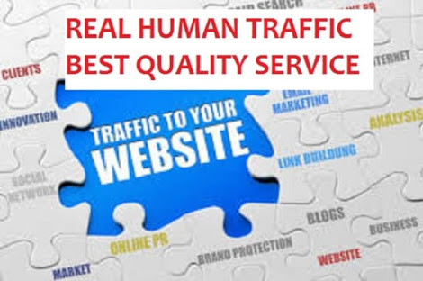 20,000 Real Visitors to your Website or Affiliate Link