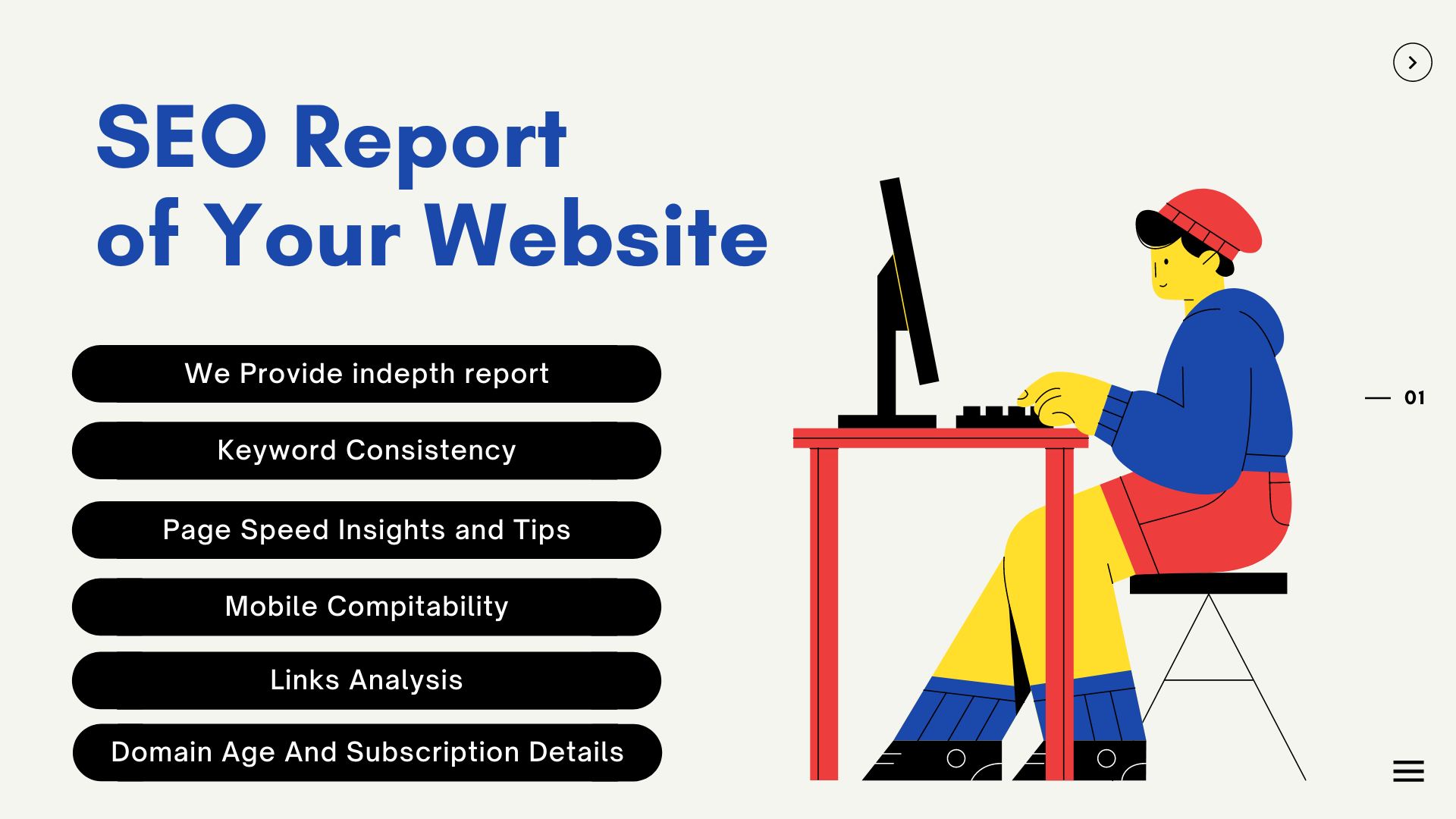 Professional SEO Report For Your Web Site within a Day