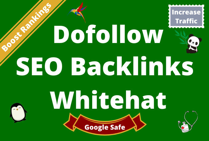 I will do 50 manual high authority quality seo dofollow backlinks link building