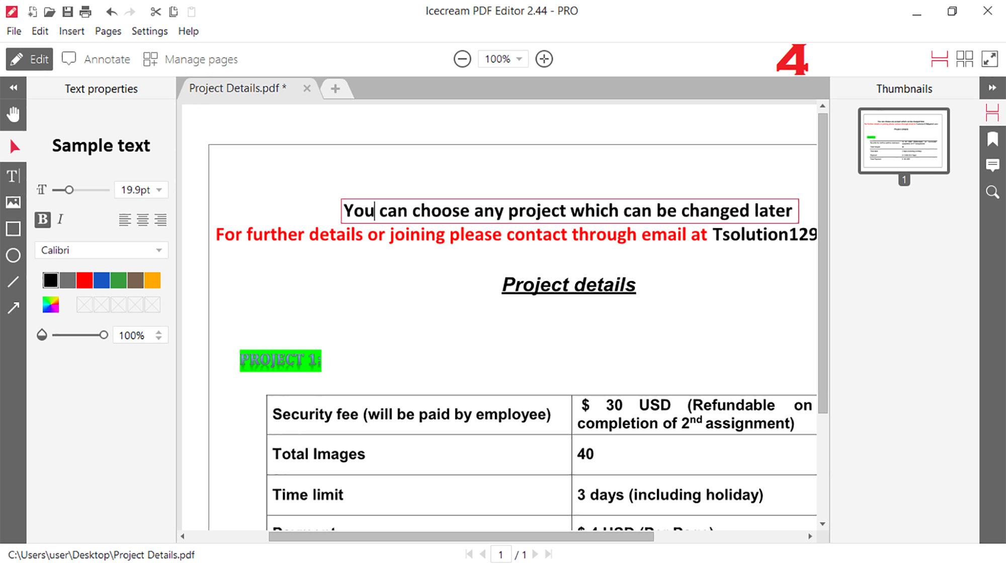 i will do PDF Editor PRO 2021 Software