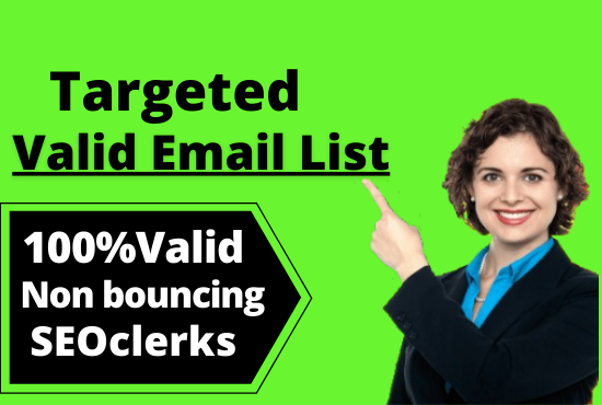I will provide target USA email list of your business