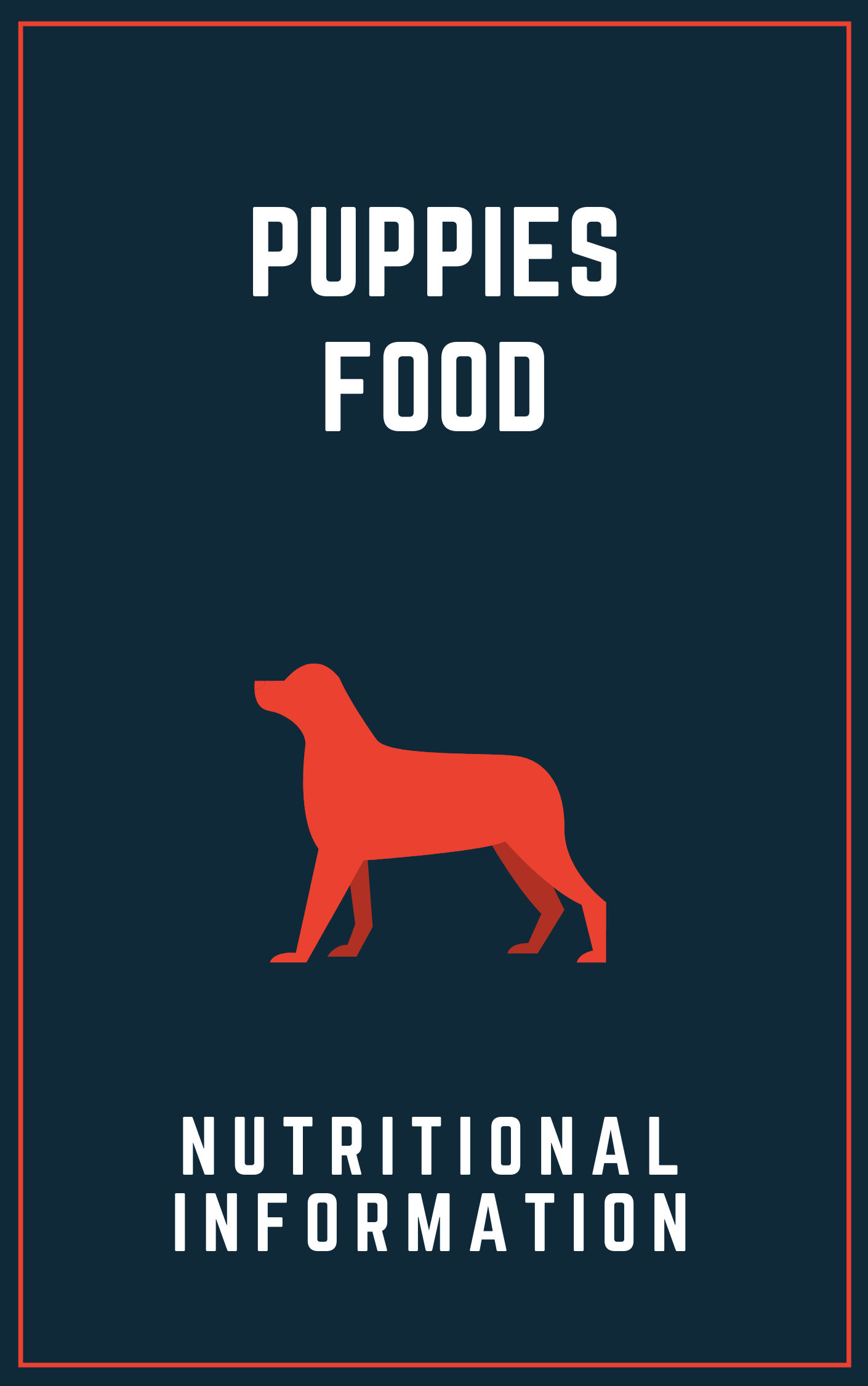 Proper nutrition is very important for new puppies