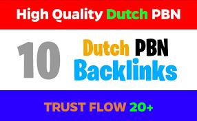I Will Create Rapidly Build 15 UNIQUE Dutch Backlinks