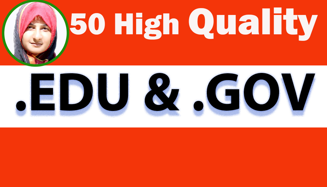 I Will Create 50 Hight Quality pr9, edu Gov dofollow seo backlinks service