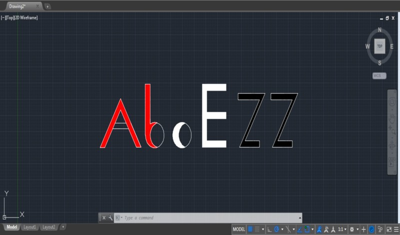 Drawing and preparing engineering using the AutoCAD program to facilitate you to do engineering work