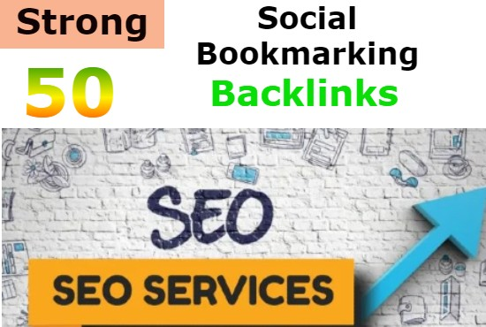 I will create manually HQ 50 social bookmarking backlinks