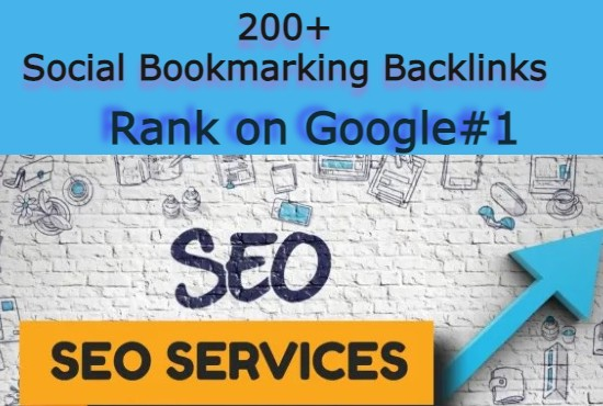 I will Manually Create 200 social bookmarking backlinks