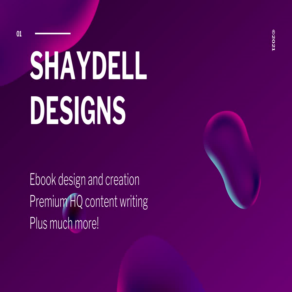 Ebook Design and Creation/Content Writing