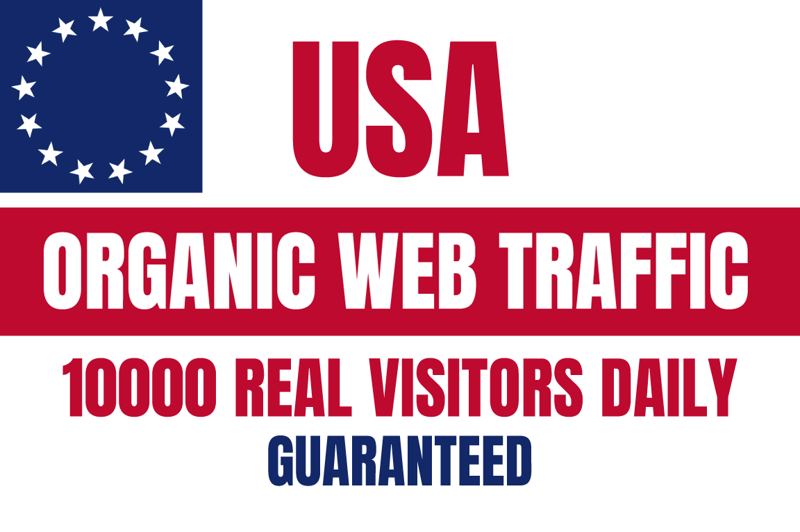 10K Niche Targeted Real USA Traffic Everyday with Gurantee