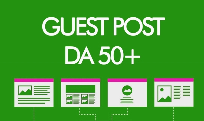 Guest Post on DA 50+ Website on cheap Rate