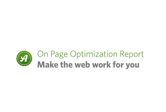 I can create a KILLER Google top 10 optimization report to improve your rankings in Google