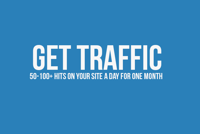 I will drive unlimited traffic to your website for one month