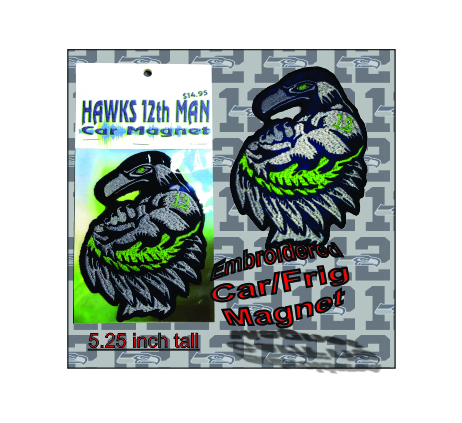 Seahawks 12th Man Custom Magnet