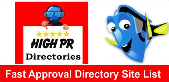 I will give you 60 fast approval directory websites