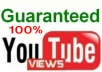 Provide you 30,000+ YOUTUBE Views + Guaranteed within 15 days