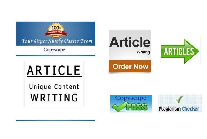 Article writing companies