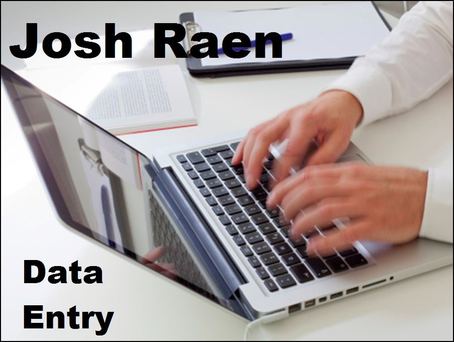 do data entry work for you 3 hour max