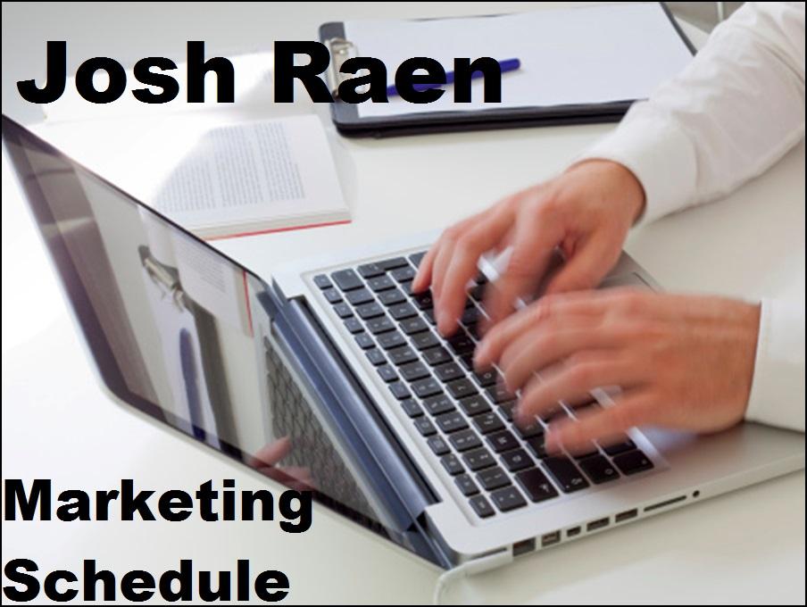 create a marketing schedule