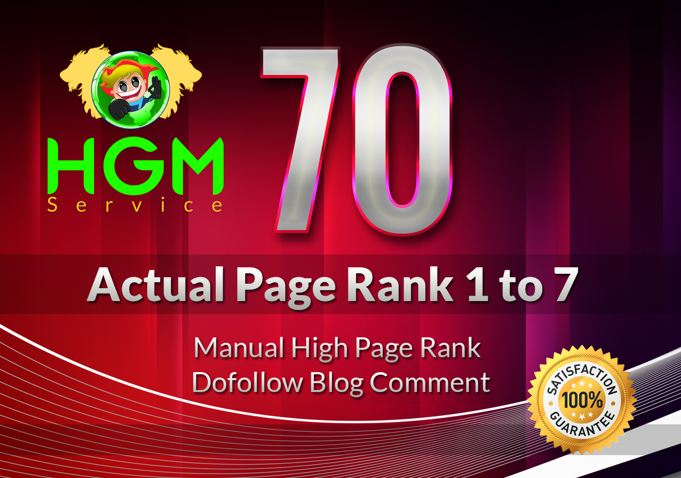 I Will Do 70 Manual DoFollow Blog Comment On Actual Page Rank 1 Up To 7 for