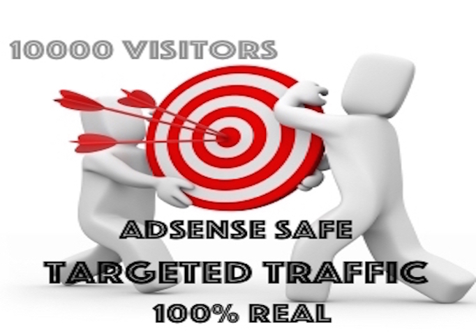 10000 website traffic visitors TARGETED NICHE + COUNT...