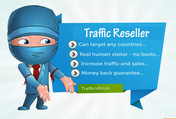 XMAS SALES - Become a Website Traffic Reseller in 24 hours