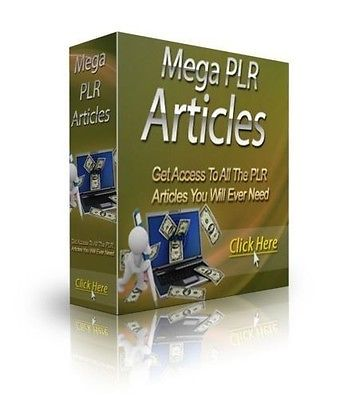 200,000 + PLR ARTICLES IN MANY NICHE TOPICS (FULL PRIVATE LABEL RESELL RIGHTS)