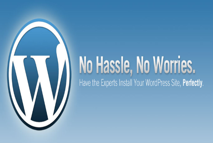 install wordpress on your shared hosting or vps