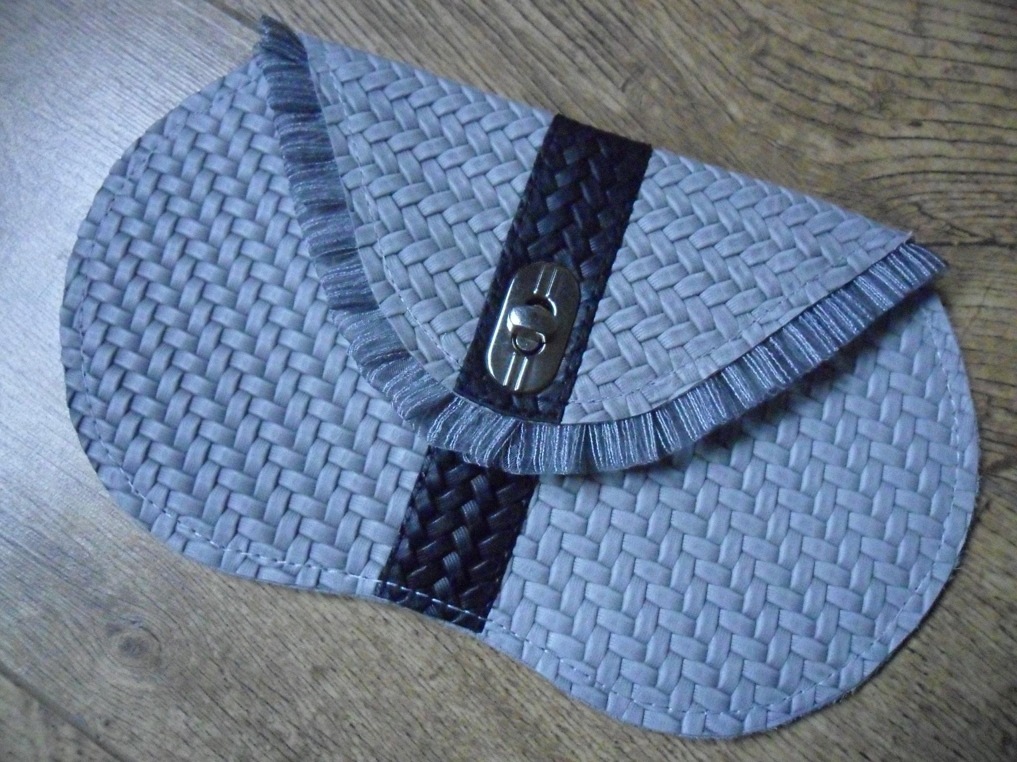 Unique leather bag 'Winter'