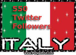 I will provide high quality 230++ USA OR ITALIAN TWITTER FOLLOWERS in cheap price
