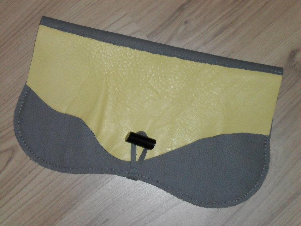 Unique genuine leather little bag