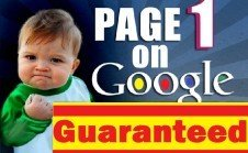 I will show You How to Get Your Site Ranked to Page One